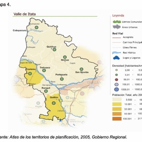 Valle Itata Carte